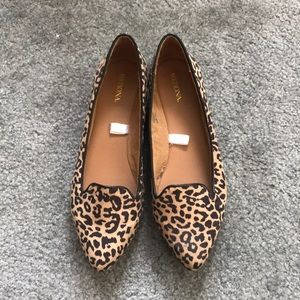 Merona Leopard Loafer Flats. Size 7.5